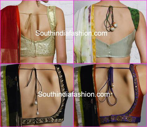 simple neck pattern for blouse blouse back neck designs