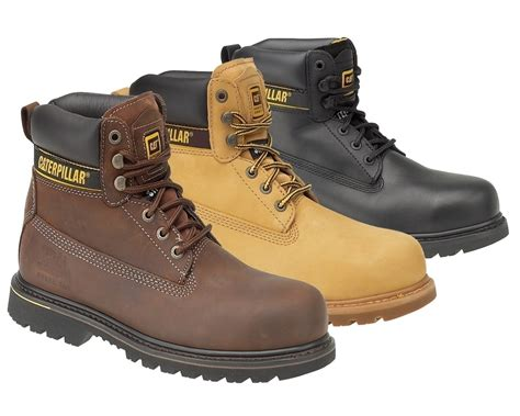 Boots Safety Shoes Kode Sc09 caterpillar s3 holton safety boots holtons3