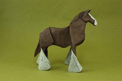 Origami Horses - more origami horses equine ink