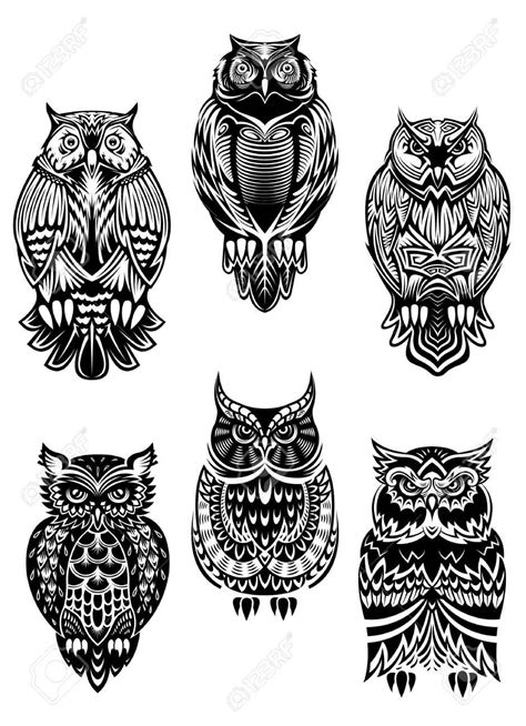 tribal owl tattoo designs 56 amazing owl bird tattoos ideas