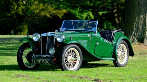 racing green mg tc racing green 1948