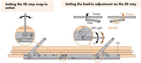 si siegenia tilt and slide patio door tilt stay arm for