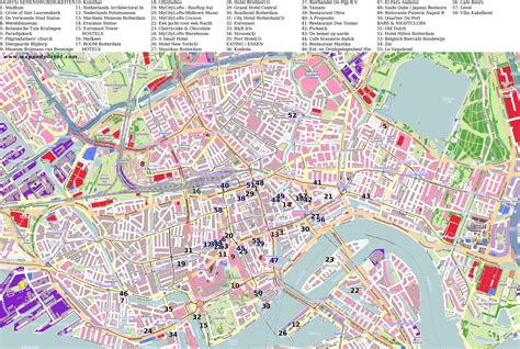 rotterdam netherlands on map city maps rotterdam