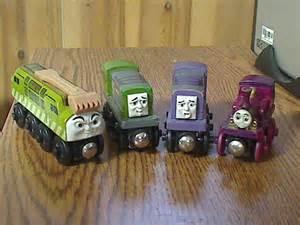 thomas wooden railway diesel 10 dodge splatter lady