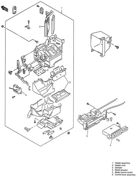 Suzuki Heat Spare Parts Repair Guides Heater Removal Installation