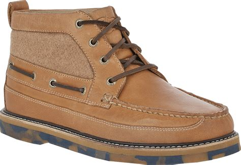 best chukka boots sperry top sider wool insert chukka boots in brown for