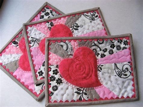 Craftdrawer Crafts Free Quilt Pattern Patchwork Throw - free quilt block patterns for valentines day hearts