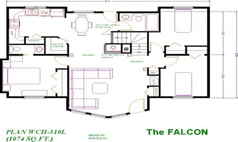 Family Vacations Under 1000 Homes Under 1000 Sq Ft Cottage Cottage House Plans 1200 Sq Ft