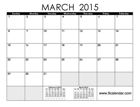 filename print 2015 calendar march coloring page april