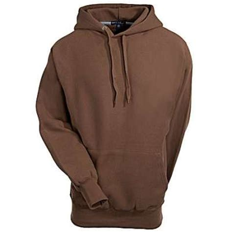 Hoodie Big 6 By Soccerroms sport tek f281brn mens heavyweight pullover brown sweatshirt