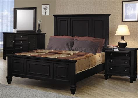 oversized bedroom furniture black finish classic 5 pc bedroom set w oversized