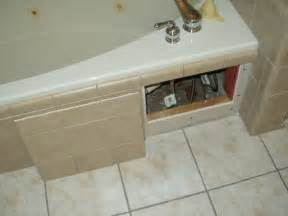 How To Change Color Of Bathtub Access Panel For Jacuzzi Ceramic Tile Advice Forums