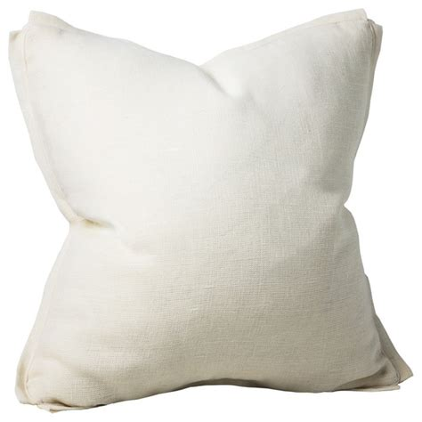 houzz pillows shop houzz chauran dorian linen feather pillow