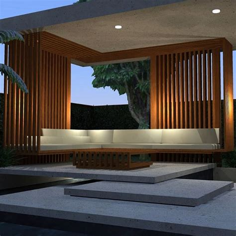 Modern Minimalist Houses by 50 Awesome Pergola Design Ideas Renoguide