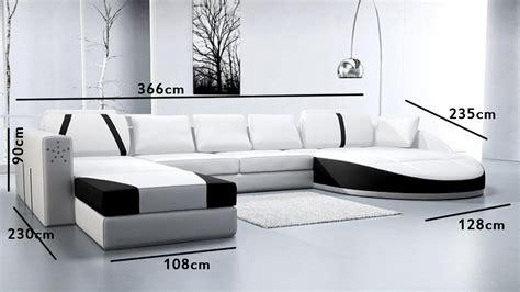 canape cuir noir et blanc canape noir et blanc cuir maison design modanes com