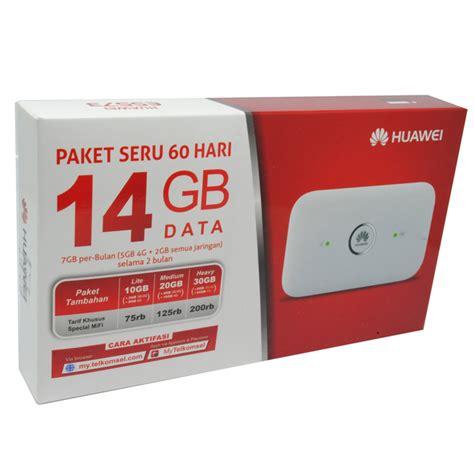 Harga Modem 4g Telkomsel by Huawei E5573 Modem 4g Mifi Bundling Telkomsel 14gb 2 Bulan