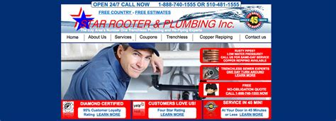 Fremont Plumbing by Starrooter Plumbing Repair Fremont Re Trench Hayward