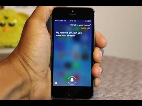 iphone 5s siri questions voice