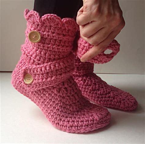 crochet pattern womens slippers womens crochet slippers pattern crochet and knit
