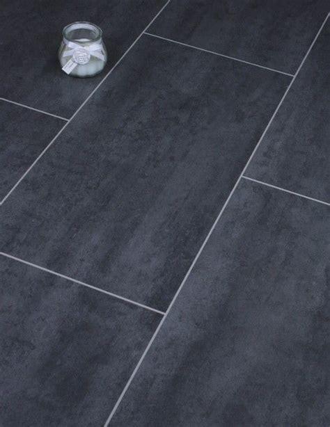 kronotex mega senia laminate floor tile is a beautiful ceramic effect black tile it feels very