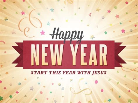 happy new year ministry of culture jesus baptism powerpoint template church new year