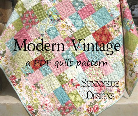 quilt pattern layer cake free pdf quilt pattern modern vintage layer cake moda quilts