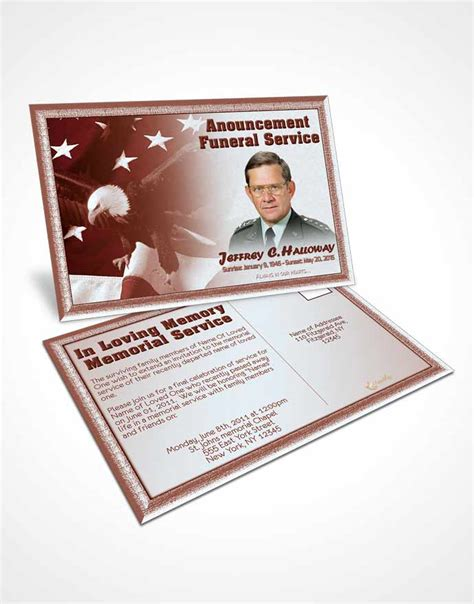 memorial card template sunset bifold order of service obituary template brochure 2nd