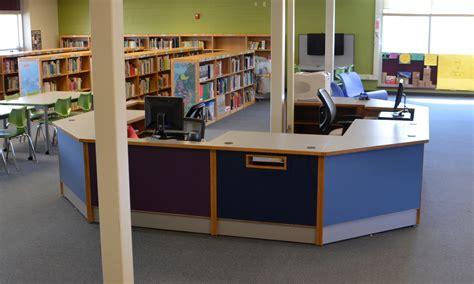 Circulation Desk Duties by Colorscape Circulation Desks Demco Interiors