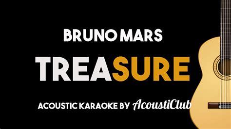 bruno mars mp3 download karaoke bruno mars treasure acoustic guitar karaoke youtube