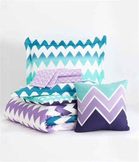 blue chevron bedding chevron bedding set aeropostale love this so much home loveliness pinterest