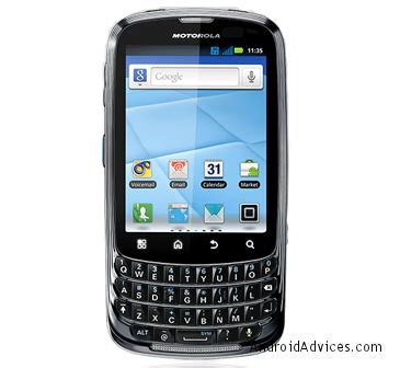 Hp Motorola Android Qwerty motorola admiral qwerty android phone on sprint for 99 android advices