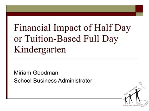 Goodman School Of Business Mba Fees by Franklin Ma Financial Impact Day Vs Tuition Based