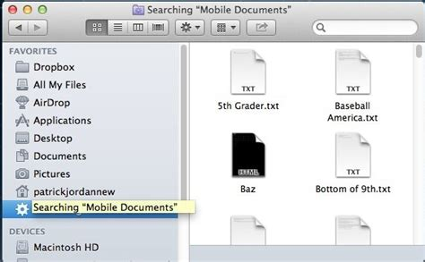 Mac Documents Folder