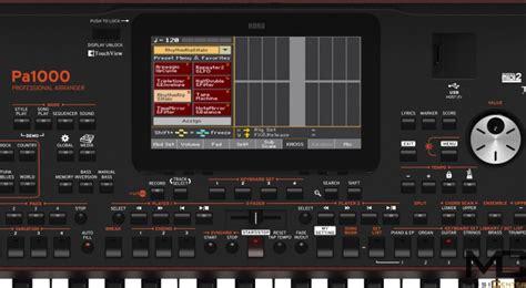 Keyboard Korg Pa 1000 Korg Pa 1000 Keyboard Musiccenter Pl