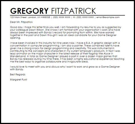 Cover Letter For Riot Games - Humbly ambitious cover letter for Riot ...