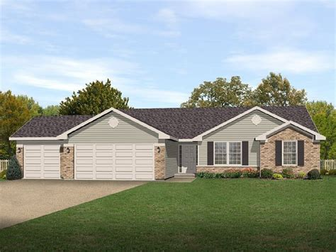 traditional ranch home plan 22008sl architectural