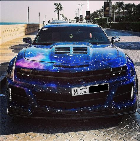 galaxy camaro camaro with a galaxy paintjob pics