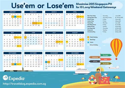 new year 2015 singapore calendar singapore holidays 2015 10 weekend trips