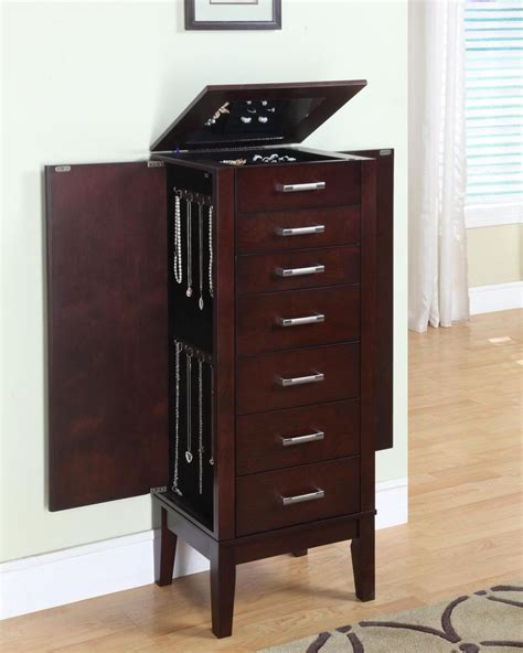 jewelry armoire espresso finish 1000 images about jewelry organization on pinterest