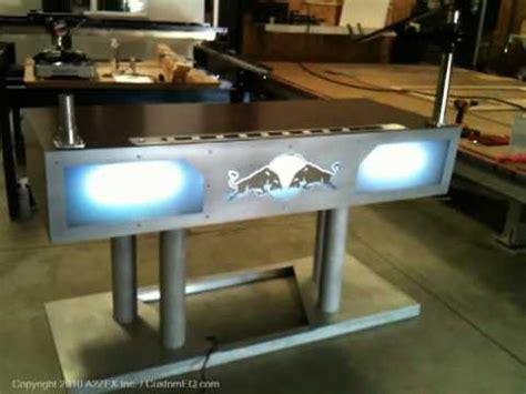 custom dj booth for drais hollywood 2 youtube