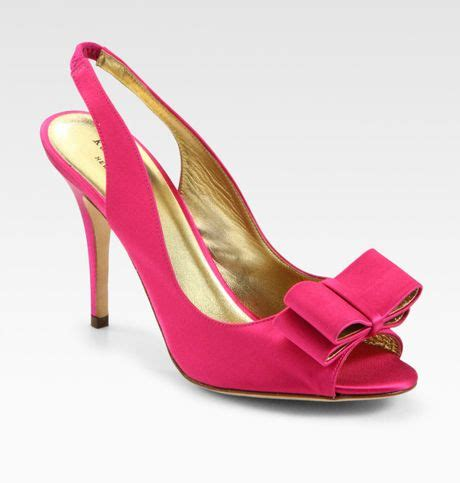kate spade high heels kate spade high heel shoes in pink fuchsia lyst