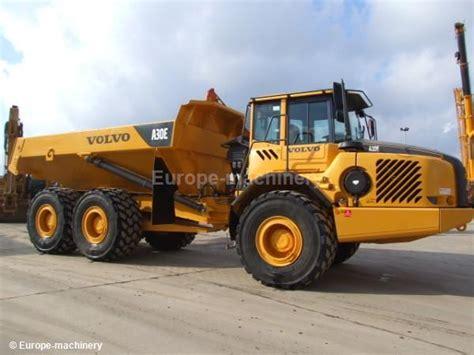 volvo a 30 e rigid dumper rock truck from belgium for