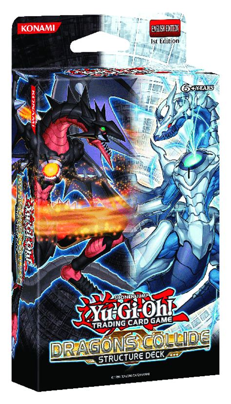 yugioh structure decks previewsworld yu gi oh tcg structure deck dragons