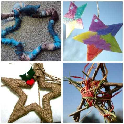 gorgeous star ornaments   happy hooligans