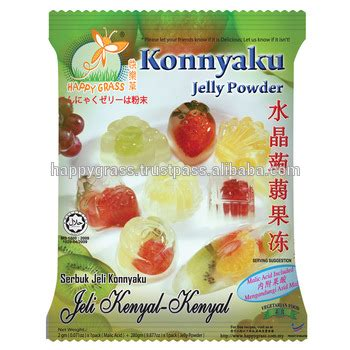 Grass Jelly Powder Premix sales konnyaku jelly powder with original flavor buy