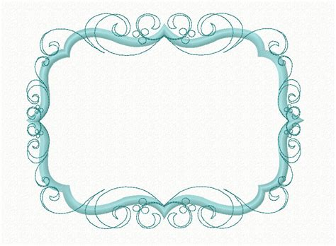design my photo frame instant download flourish swirly frame machine applique