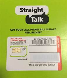 talk verizon 4g lte compatible mini micro sim card ebay