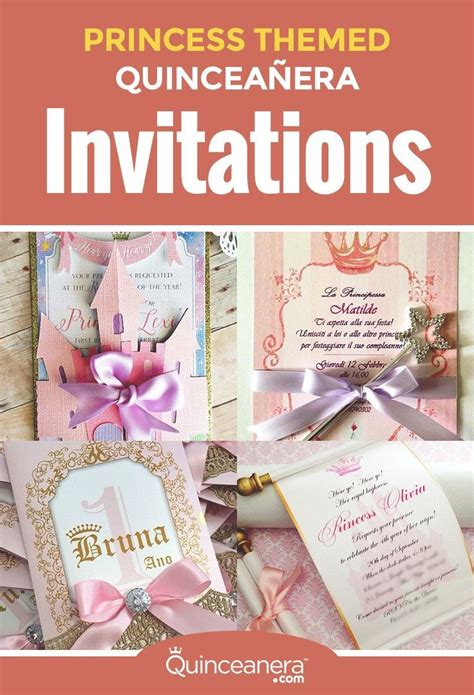 princess themed quince invitations invitations the o jays and princesses