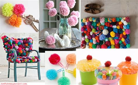Handmade Pom Pom Decorations - pom pom decoration ideas 28 images adorable pom pom