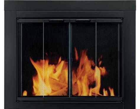 Fireplace Glass Door Installation The Ascot Fireplace Door Review Pleasant Hearth Fireplace Doors